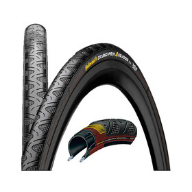 Continental Grand Prix 4-Season Polkupyöränrenkaat 25-622, taitettava , musta